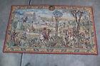 Vintage Flanders Belgian Tapestry Old Brussels Spring 81.5 x 46 (Belgium)