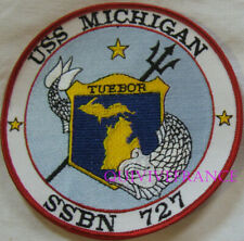 PUS279 - US NAVY USS MICHIGAN SSBN 727 PATCH SOUS-MARIN NUCLEAIRE
