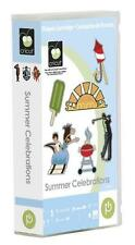 CRICUT *SUMMER CELEBRATIONS* SHAPES CARTRIDGE *NEW SEALED* USE WITH ALL MACHINES