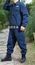 New LAPD SWAT Shirt & Pants Uniform BDU Ocean Blue X-Large---Airsoft