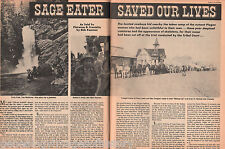 Chief Sage Eater & Piegan Indian History by Bob Kennon