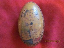 Eastern European Wooden Egg Collectible- Easter