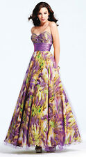 NWT FAVIANA COUTURE $378 Lavender Formal Evening Gown 2