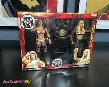 ASHLEY MASSARO & MELINA WWE Jakks Exclusive Limited Wrestling Action Figure Toys