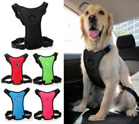 Mesh Dog Car Harness for Small Medium and Large Dogs No Pull Black Vest Harness
