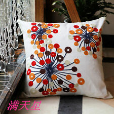 Unbranded Cotton Blend Star Decorative Cushions & Pillows