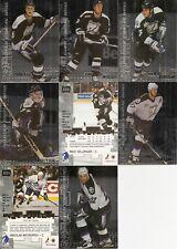 1999-00 BAP ITG Millennium Signatures Tampa Bay Lightning Silver Team Set (8)