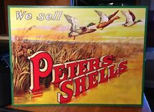 Repro We Sell Peters Shells Standing Advertising Die Cut
