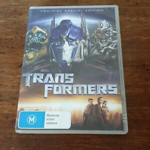 Transformers 2 Disc Special Edition DVD R4 Like New! FREE POST