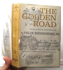 The Golden Road, F Riesenberg Jr., 1962, McGraw-Hill - VGd++