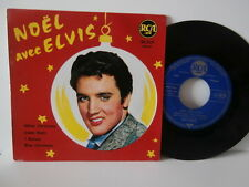 "elvis presley""noel avec Elvis""white christmas""7""rca:86249.du 12/1960.biem"