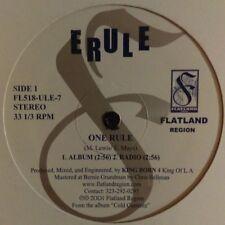 """Erule – One Rule ~Flatland Region 2001 US Hip Hop DJ 12"""" FAST SHIPPING!"""