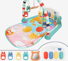 Baby Play Mat Gym Educational Toy Musical Piano Newborn Activity Learning Carpet