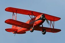 "Model Airplane Plans (RC):  Great Lakes Trainer 1/8 Scale 40"" .15-.25 (Flyline)"