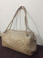 Authentic PreLoved Po Vainer woven women's shoulder bag