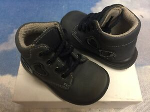 Italy Shoe Be 2 Girl First Step Walker Lace Boot Size 19 / US Infant 4-4.5