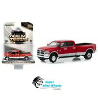 Greenlight Dually Drivers Series 2 2018 Ram 3500 Big Horn Harvest (Red) 46020-D
