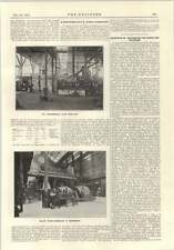 1915 Plant For Production Of Oil From Coal Experimental