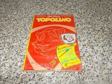 TOPOLINO N.1012 CON GADGET SCUDO SCUDETTO FRA' TAC BLISTERATO APERTO IN BASSO