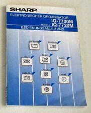 Bedienungsanleitung - SHARP IQ-7700M, IQ-7720M -