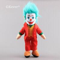 Movie Comics Batman The Joker Evil Plush Figure Doll Stuffed Toy 15'' Kids Gift