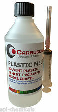 Plastic Cement Weld Glue Perspex Acrylic Hobby Crafts DIY 250 ml Styrene ABS