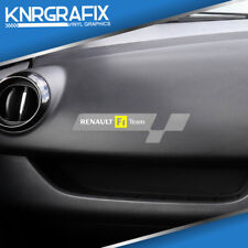 KNR0207 - Dash Sticker / Decal for RENAULT SPORT CLIO F1 TEAM Mk4 IV RS 200 220