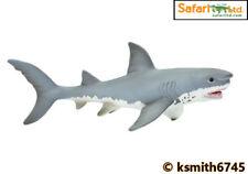 Safari SQUALO BIANCO Giocattolo di Plastica Solida Mare Pesci Selvatici Animali Marini * NUOVO * 💥