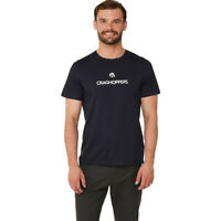 Craghoppers Mens Calvino T Shirt Tee Top - Navy Blue Sports Outdoors Lightweight