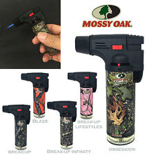 Mossy Oak Torch Gun Lighter Adjustable Flame Windproof Butane Refillable