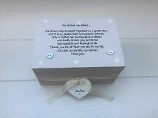 Shabby Personalised Chic Gift Special Sister Trinket Keepsake Box Birthday