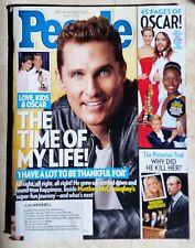 Matthew McConaughey Oscar Pistorius Ellen Degeneres Oscars People Mar 17 2014