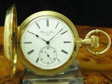 Ulysse Nardin 18kt 750 Oro Savonette Reloj de Bolsillo Minutos Repetición