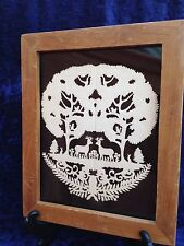 Silhouette - Tree Of Life - Black Background - Dear Bunny Forest Squirrel Bird