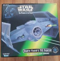 Kenner Star Wars The Power of the Force Darth Vader's TIE Fighter Hasbro NOB!
