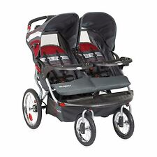 NEW Baby Trend Navigator Double Jogging Stroller fit Car Seat INTERNATIONAL SHIP