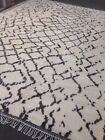 Beni Ourain Moroccan  Area Rug 10' X 14'/ 15' hand Knotted White Large Rare soft