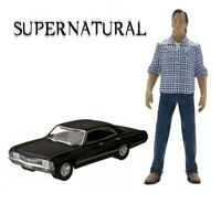 Supernatural Exclusive Sam Figure with Impala Sedan 1:64 Scale Car