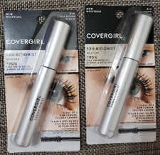 Lot of 2, Covergirl Exhibitionist Mascara, 810 Black Brown
