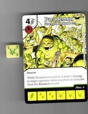 DICE MASTERS DC BATMAN UNCOMMON CARD & DIE #67 PARADEMON STRENGTH IN NUMBERS