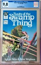 Roots of the Swamp Thing #2 CGC 9.8 WP DC 1986 Berni Wrightson & Len Wein!!