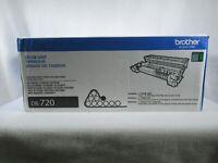 Brother DR-720 Black Drum Unit Cartridge New Genuine Open Box