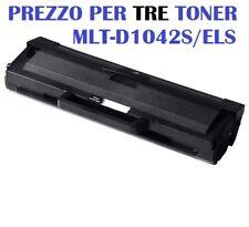 CARTUCCIA PER SAMSUNG ML1660 ML665 ML1666 ML1670 ML1672 SET DA 3 TONER