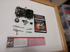 Transformers G1 Hound 99% Complete w Gas Can & Spare Tire & Weapons Lot # 2