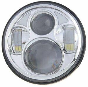 "Harley Davidson 5 3/4"" LED Chrome Headlight Daymaker for Dyna Sportster Bob 883"