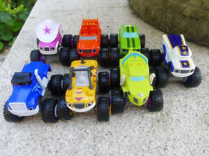 Blaze and The Monster Machines Choosing Various Diecast Vehicle Trucks New Loose