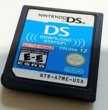 Nintendo DS Download Station Volume 12 Demo Cart Not For Resale NFR