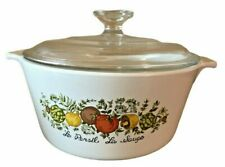Spice Of Life Corning Ware 1.75L Casserole Dish With Lid