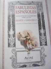 FABULISTAS ESPAÑOLES-Iriarte y Samaniego-Ilustrado por J.B.OUDRY