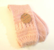 Legale Ladies Slipper Socks Baby-Soft Knit Pink - NEW